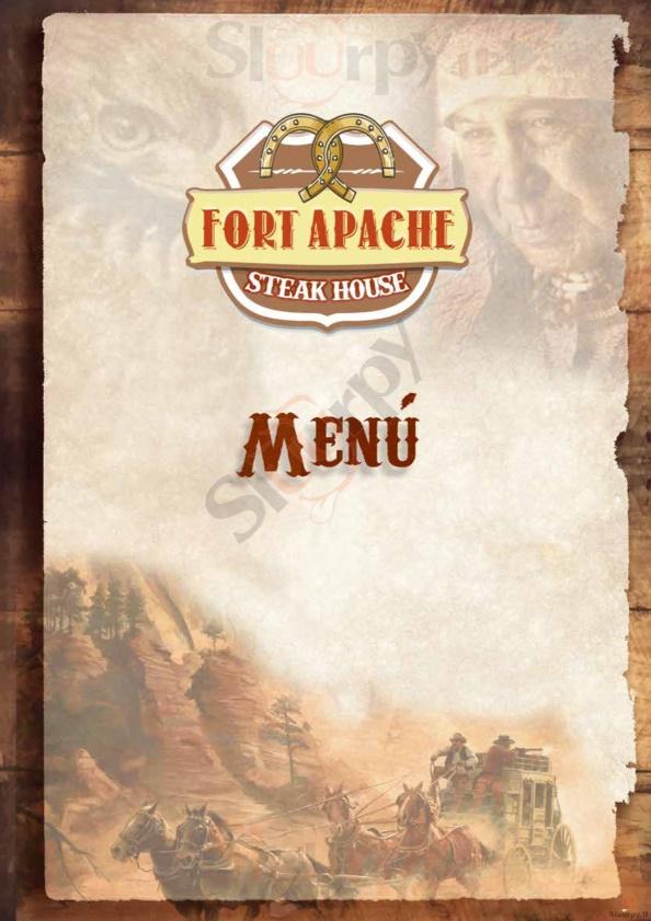 Fort Apache - Fiumicino Fiumicino menù 1 pagina