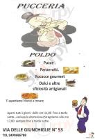 Menu PUCCERIA POLDO