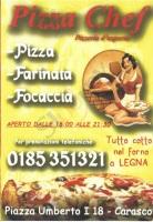 Menu PIZZA CHEF