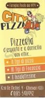 Menu CITY PIZZA