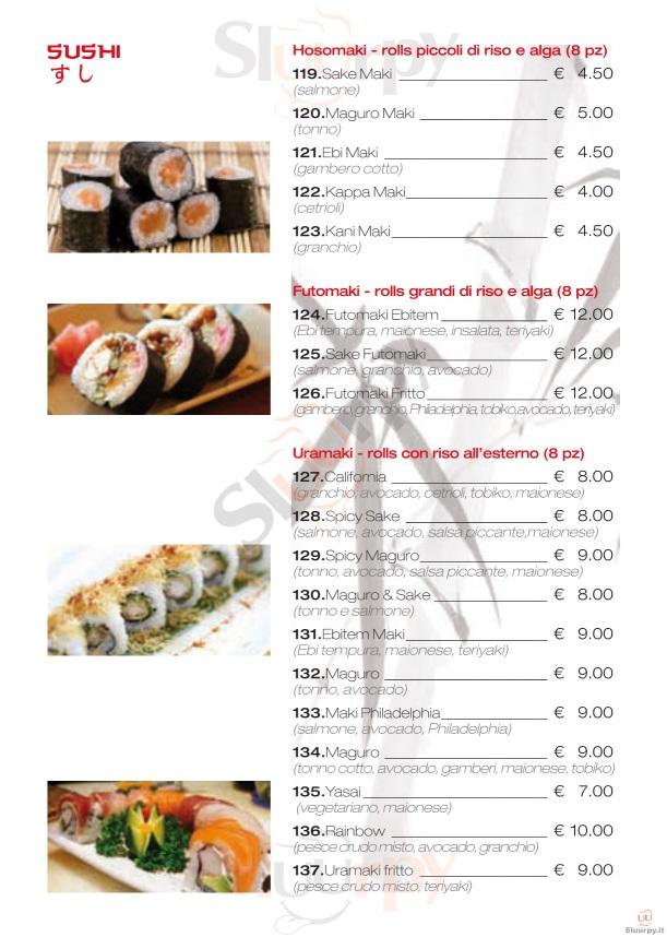 Savona Restaurant Menu