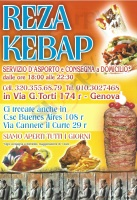 Menu REZA KEBAP, Via Canneto il Curto