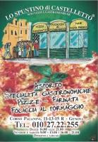 Menu LO SPUNTINO DI CASTELLETTO