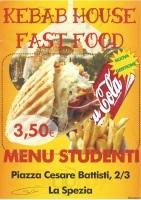 Menu KEBAB HOUSE FAST FOOD