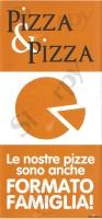 Menu PIZZA E PIZZA