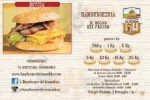 Menu Hamburger del Contadino