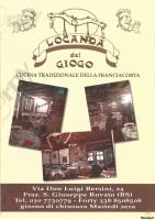 Menu LOCANDA DEL GIOGO