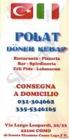 Foto del menù di POLAT