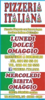 Foto del menù di PIZZERIA ITALIANA