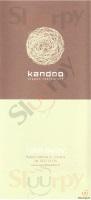 Menu KANDOO