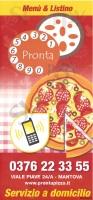 Menu PRONTA PIZZA