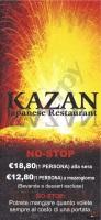 Menu Kazan