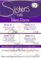 Menu SISTERS CAFE'