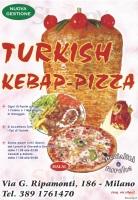 Menu TURKISH KEBAP PIZZA