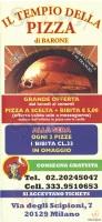 Menu IL TEMPIO DELLA PIZZA