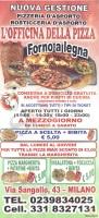 Menu L'OFFICINA DELLA PIZZA
