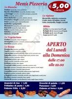 Foto del menù di LA PIZZA DI PULCINELLA