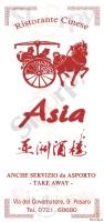 Menu ASIA