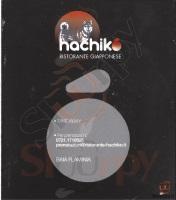 Menu HACHIKO