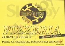 Menu PANDOS PIZZA
