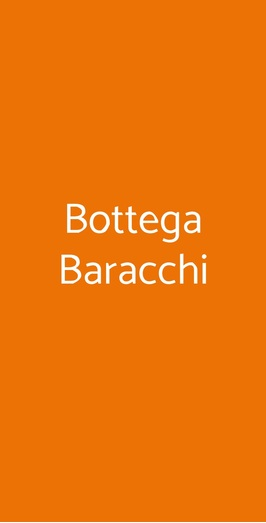 Bottega Baracchi, Cortona