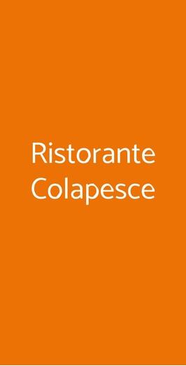 Ristorante Colapesce, Forte Dei Marmi