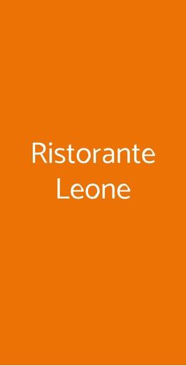 Ristorante Leone, Viareggio