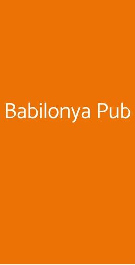 Babilonya Pub, Bibbiena