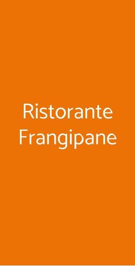 Ristorante Frangipane, Lucca