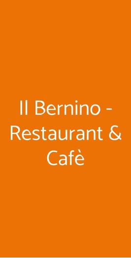 Il Bernino - Restaurant & Cafè, Lucca