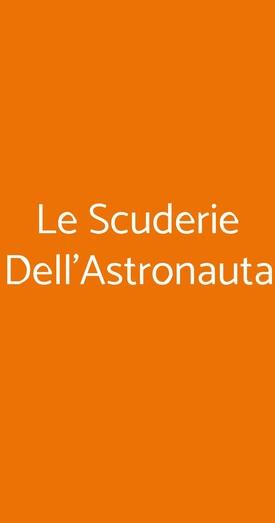 Le Scuderie Dell'astronauta, Genova