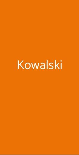 Kowalski, Genova