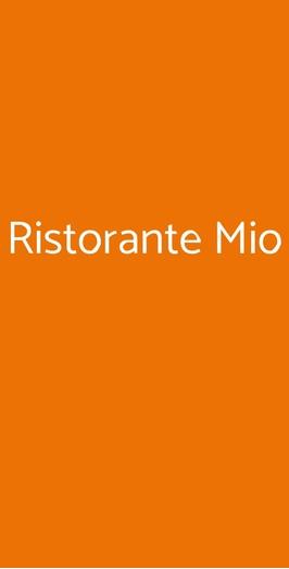 Ristorante Mio, Genova