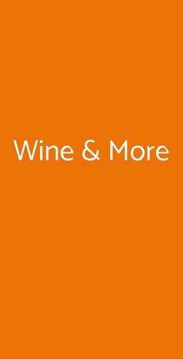 Wine & More, Camaiore