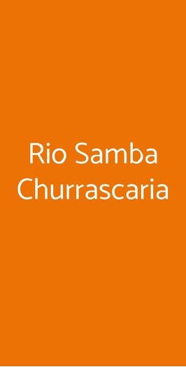 Rio Samba Churrascaria, Genova