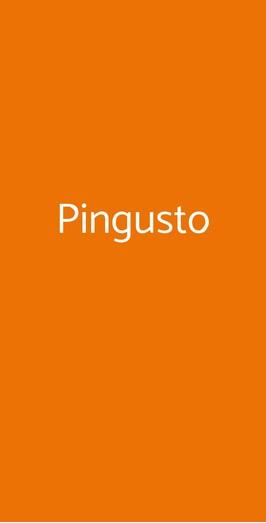 Pingusto, Genova