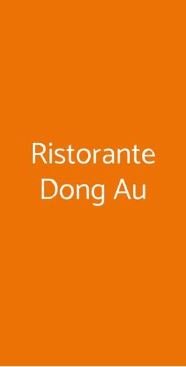 Ristorante Dong Au, Genova