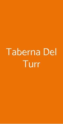 Taberna Del Turr, Genova