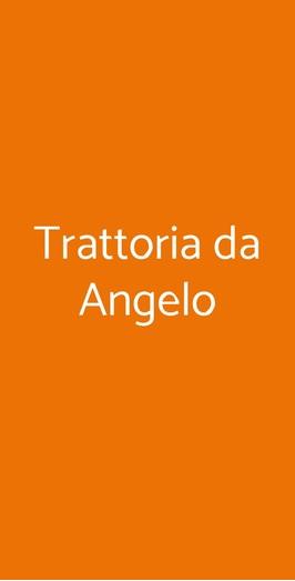 Trattoria Da Angelo, Genova