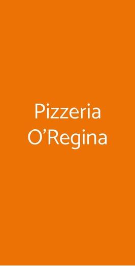 Pizzeria O'regina, Genova