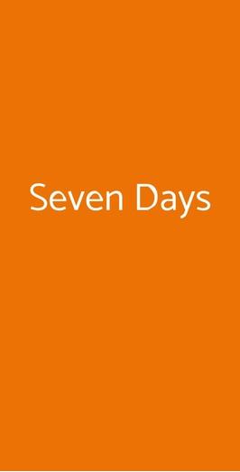 Seven Days, Genova