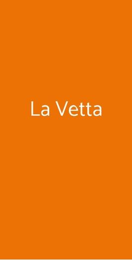 La Vetta, Genova