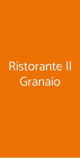 Ristorante Il Granaio, Pisa