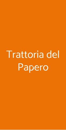 Trattoria Del Papero, Riparbella