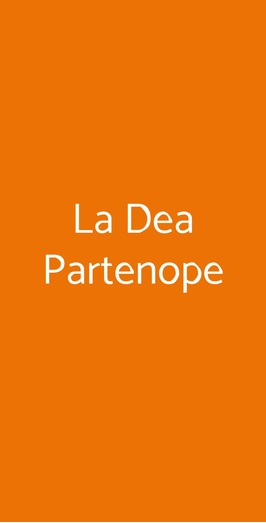 La Dea Partenope, Cascina