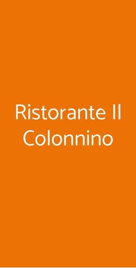 Ristorante Il Colonnino, Pisa