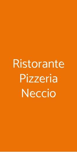 Ristorante Pizzeria Neccio, Pisa