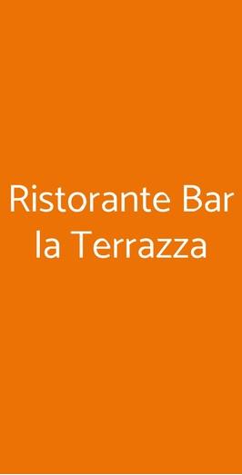 Ristorante Bar La Terrazza, Pisa