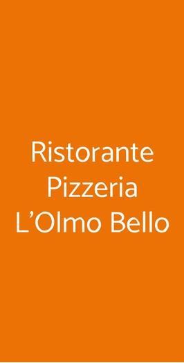 Ristorante Pizzeria L'olmo Bello, Alberobello