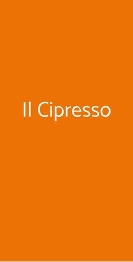 Il Cipresso, Volterra